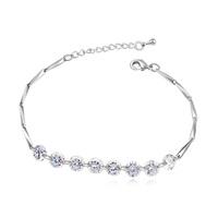 new brand design fashion women golden bracelet TOP18K ya grind joints Zircon Bangle Bracelet 109022