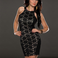 Free Shipping Women's Off Shoulder Lace Sexy slim Evening Dress