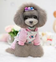 Dog Winter Clothes Jumpsuit Happy Bear Design Pet Product Clothing For Dog Cat Super Soft Cotton Padded Dog Coat 1pcs/lot