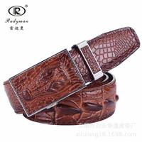 2014 new men belt jeans ceinture genuine leather high cowskin luxury star strap