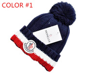 Fashion knitting hat Autumn and winter knitting hat high quantit  M-N Fashion men and women fashion accessory colorful new