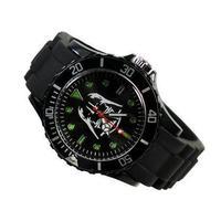 Star Wars Darth Vader Fashion Boy Man Metal Black Silicone Watch Wrist