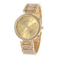 New Style Rhinestone Leisure Fashion Designer Brand Women Watch Quartz Watch  Stainless Steel Watch SHI KAI 2299