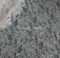 2014120708 Free Shipping silvery  Lace Fabric