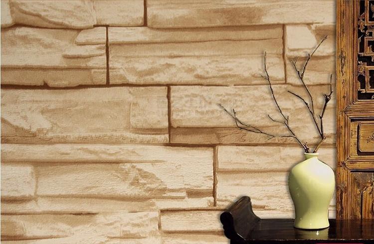 Ziegel Tapete Wohnzimmer : tapete graue wand ziegel papel de parede tapetenbahnbreite tapete