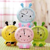 2014 child cartoon alarm clock belt luminous mute