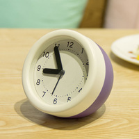 Storage alarm clock quieten cartoon brief fresh all-match home bell ornaments alarm clock