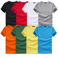 New Men's T Shirt Casual Solid  O-neck Cotton  Mens Short Sleeve T Shirt,T-shirt men Summner,5 Colors,Size S-3XL,STFZ01