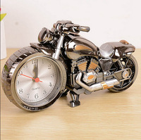 2014 New Free Shipping High Quality Motorcycle shape Needle Creative Alarm Clock As Gift for friends birthday party