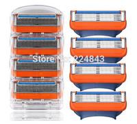 12 pcs/lot FP Men Face Cleaning Cosmetic Tool Shaving Razor Blades For Men Sharpener Razor Blade For Manual Razors