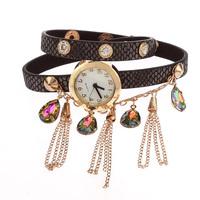 Ms Hot Selling Luxury Packaging Rhinestone Bracelet Quartz Watches, Fashion Jewelry Decoration Women Dress Watch