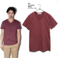 New Men's T Shirt Casual Solid  V-neck Cotton  Mens Short Sleeve T Shirt,T-shirt men Summner,8 Colors,Size S-3XL,STFZ02