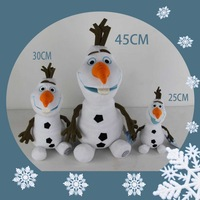 Wholesale and Retail Children Plush Toys Forzen Snowman OLAF Doll Hot Selling Brinquedos for Kids Wedding Christmas Decoration