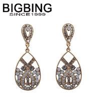 BigBing  jewelry fashion crystal drop earrings earrings dangle earring good quality  nickel free Q672