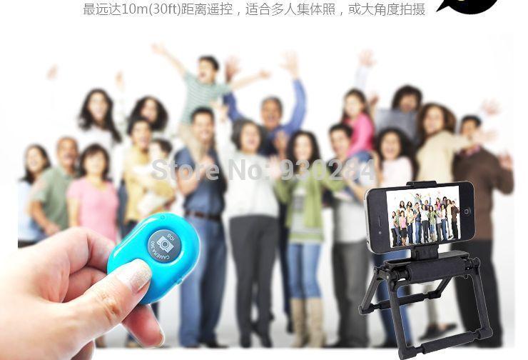 Дистанционный спуск затвора для фотокамеры OEM Selfie Bluetooth remoto ios, Android гаджет дистанционныйспускзатвора fototo для iphone