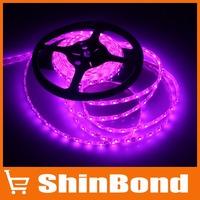 Best Pirce 5m 300 LED 3528 SMD 12V flexible light 60 led/m pink color LED strip waterproof Free shipping