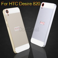 7 Color,Aluminum Border/Frame & PC Back Cover Case For HTC Desire 820 / D820U Mobile Phone Bags,Free Tempered Glass Film