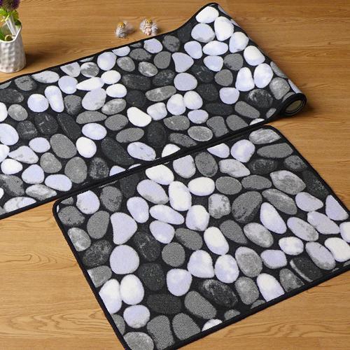 noir blanc pierres eco friendly salon tapis enfants chambre porte tapis de sol des m nages. Black Bedroom Furniture Sets. Home Design Ideas