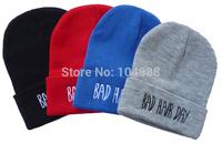 New Sports Outdoor Hip hop Beanies Unisex cap Hat Letter Casual Skullies 4 colour