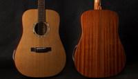 41 inch type D all high-grade ballad guitar AAA Korean pine veneer guitar varnish