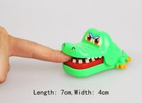 Drop Shipping   Unique  Design Crocodile Mouth Dentist Bite Finger Game Funny Toy