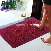 Mats doormat entranceway foot rub bathroom slip-resistant pad bedroom carpet mat