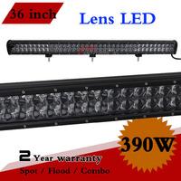 36.5 inch 390W LED Light Bar Combo 12V 24V IP67 For Off Road 4x4 Truck Tractor Boat Fog Light Led Worklights Seckill 240W 300W