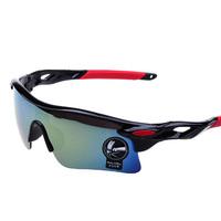 Sunglasses sport parkour Men's and women's outdoor cycling glasses lens movement trend oculos de sol masculino