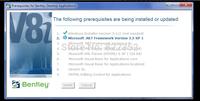 Prerequisites for Bentley Desktop Applications 08.11.09.03 / English version