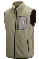 Warm fleece vest male outdoor sports no big yards down cotton vest Multicolor