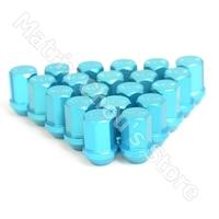 Blue Color, RAYS Volk Racing Wheel Nuts / Wheel Screws Anti-theft Lock Nuts Lug Nuts Duralumin Length 35MM M12 X 1.5