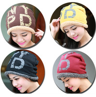 New Chic Women 100% Wool Fur Beanie Skullcap Cute Warm Winter Unisex Hat#A119