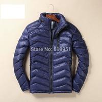 2014 winter men brand Outdoors Jacket Men Sports Down Jacket White Duck Padded  Waterproof Parkas European style 3 colors