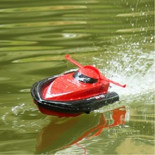 mini children's  boy's Remote control  boat airship toy red yellow For boy children birthday Christmas gift(China (Mainland))