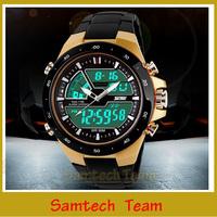 SKMEI Brand Digital Sports Watches Men Military Watch 5ATM Waterproof Fashion Man Dual Time Zone Wrist watches 1016