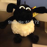 1 piece 25cm New Year of 2015 For Children Birthday Gift Kawaii Cute Small Nici Shaun the Sheep Toy Soft Plush Stuffed Animal