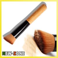 Pro Quality Flat Angled Foundation Brush Makeup Foundation Powder Brush Flawless Silky Studio Brush Make up Face Look Tool
