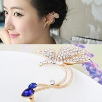 20% discount of 3pcs or more NO MOQ fashion Set auger butterfly ear clip earrings