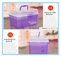 Free shipping High quality Large/ Medium /small household kits, multi-kits, portable first aid box, storage boxes, portable box