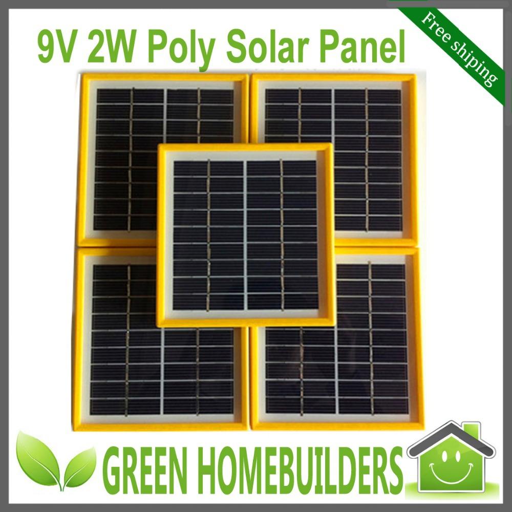 3 pcs / lot 9V 2W 220mA 140MM*130MM Glass Laminated DIY Polycrystalline Silicon Solar Cell , Solar PV Panel(China (Mainland))