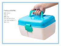 Free shipping High quality Portable home medical kits, first aid kits, medical kits multilayer box