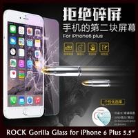 "ROCK 0.2MM Ultrathin 2.5D 9H Anti-Blue Light Tempered Gorrila Glass for Apple iPhone 6 Plus 5.5""+ Retail+Free Shipping"