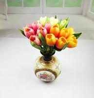 30cm Tulip artificial flowers 6 pcs/lot Big bud wedding decoration 6 colors home decoration