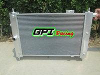GPI NEW aluminum radiator FOR Vauxhall MK2 Astra 2.0 16v GTE Alloy Radiator 1983-1991 1984 1985 1986 1987 1988 1989 1990