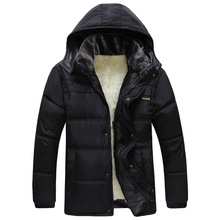 2015 new Autumn and winter cotton padded clothes Mens outfit thickened mens jacket padded cotton padded jacket free shipping(China (Mainland))