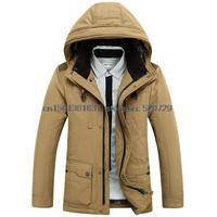 Free shipping 2014 new winter jacket Business Men's down jacket men in long down jacket coat 806