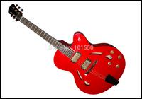Double Humbucker Cutway Solid Wood Jazz Guitar