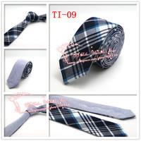 Hot selling,2015 Brand New,Men Navy Diomand Check corbatas necktie,Mens Plaid double wear Cotton gravata Skinny Neck Ties,TI09