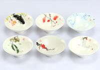 Jingdezhen ceramic tea cups hand-painted blue and white porcelain tea cup set Kung Fu tea tools drinkware