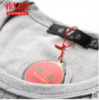 Yalu male extra large plus size plus size long johns long johns set 100% cotton thin thermal cotton sweater underwear